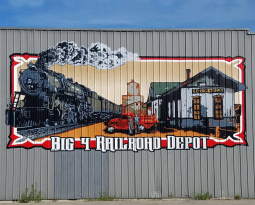 Georgetown Big 4 Railroad Depot
