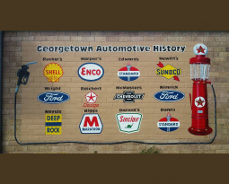Georgetown Automotive History Mural