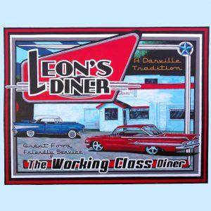Leon's Diner Mural (1) square